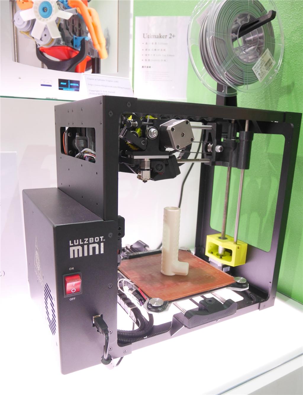 taimold 模具展 3d列印 三帝瑪 Lulzbot 3D印表機 適用軟料