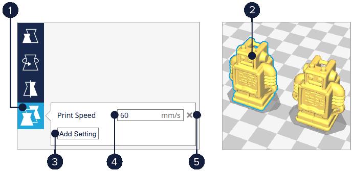 3d列印 三帝瑪 cura 2.1 兩個物件