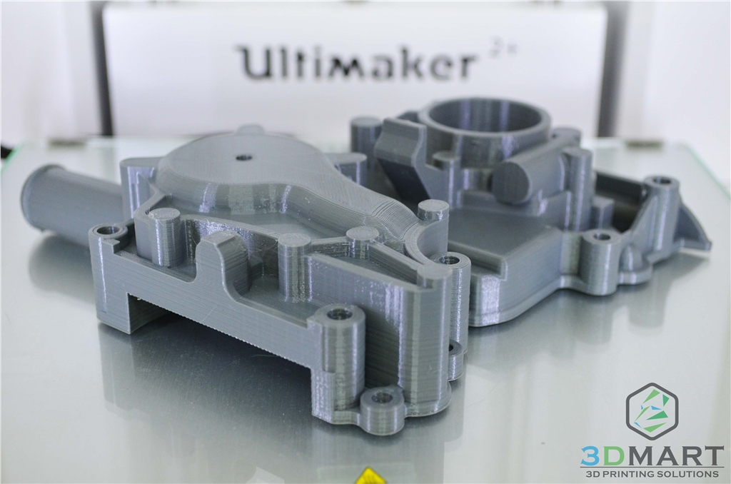 Ultimaker2+ 3D列印 Colorfabb nGEN 引擎座與正時蓋