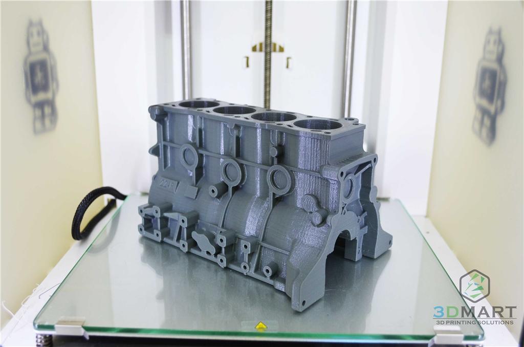 Ultimaker2+ 3D列印 Colorfabb nGEN 引擎座