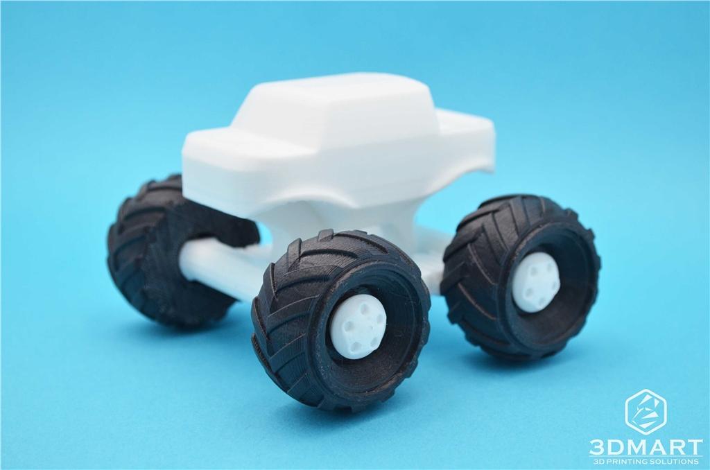 Ultimaker 3D列印 polymaker PC- MAX   高強度 耐熱 線材  車子 輪胎
