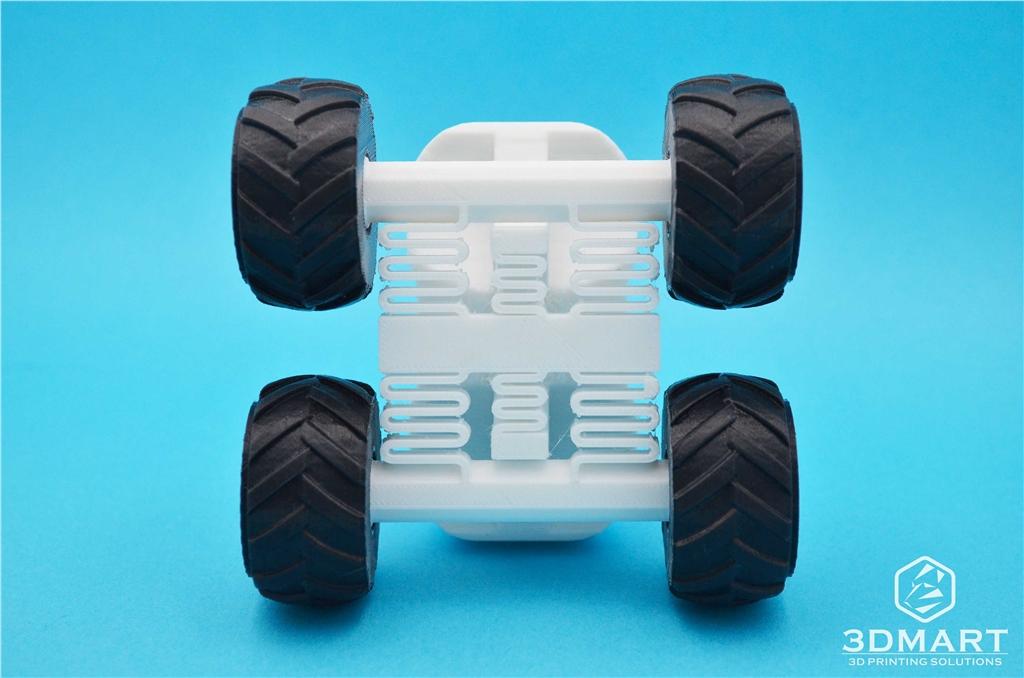 3D列印 polymaker PC- MAX  高強度 耐熱 線材  車子 模型 底部