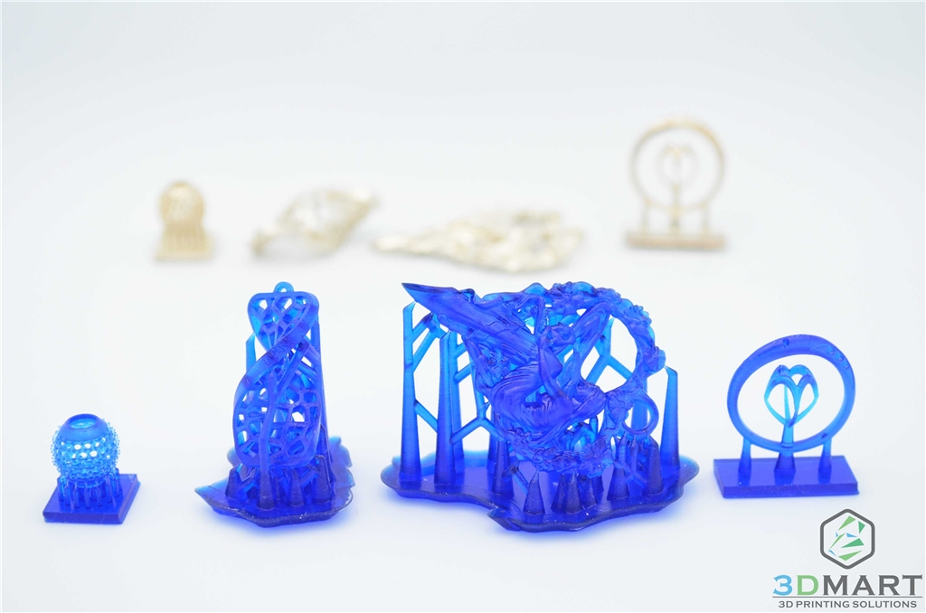 3D printing finished product sharing] Form2 casting resin