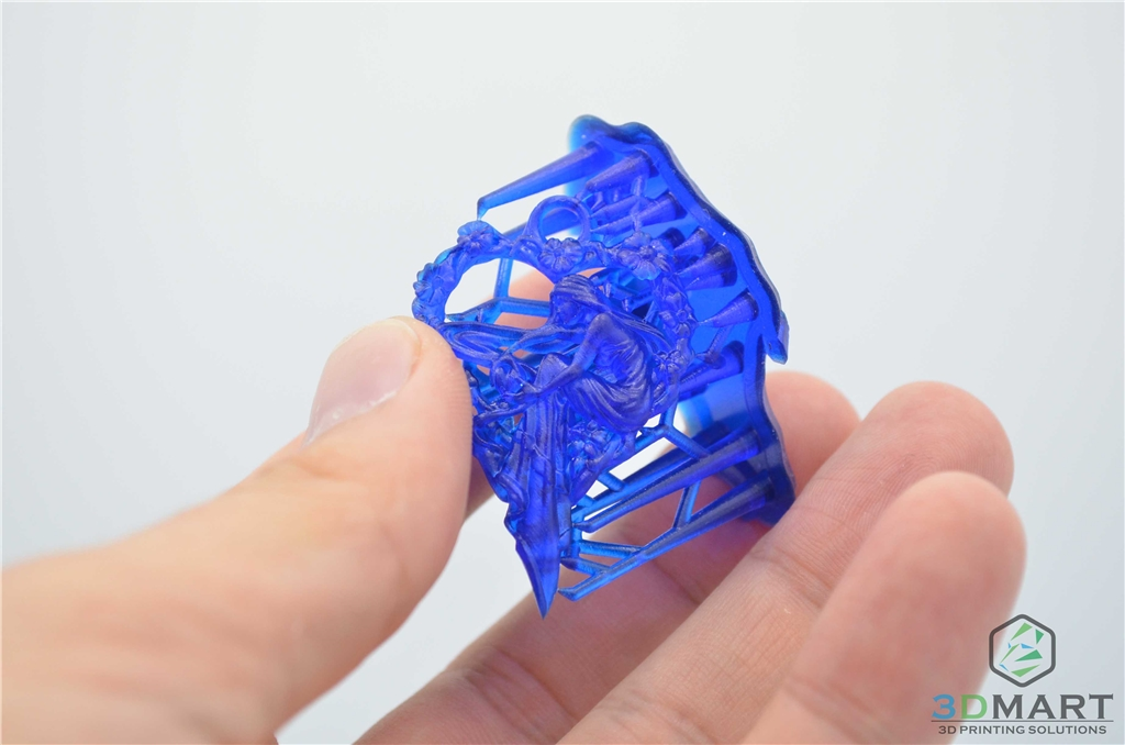 Formlabs Form2 SLA 光固化 3D列印機 Castable 鑄造樹脂 3DMART 列印  少女吊墜