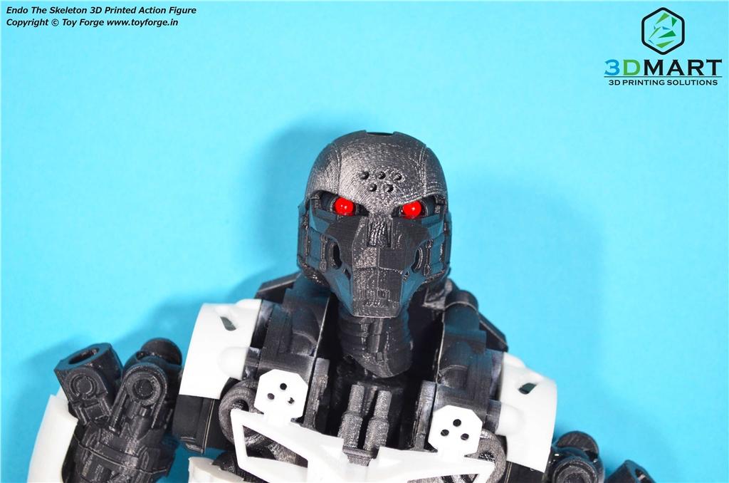 3D列印 骷髏機器人 ENDO 全身可動 3D印表機 Ultimaker2+  PC 3D列印材料