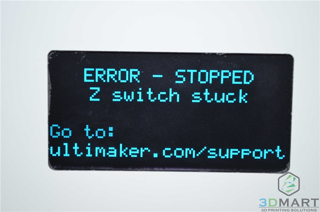 3DMart - Ultimaker Z switch stuck
