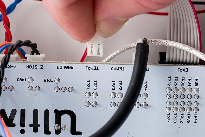 PT100B, 感溫線, Ultimaker,  Ultimaker2, 主機板, TEMP