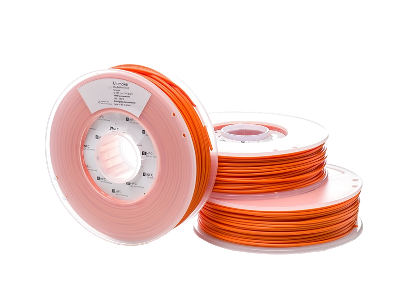 Ultimaker PLA-3D列印線材-橘色(Orange)-Spool1