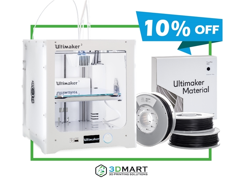 Ultimaker 3 Bundle - 3D列印機