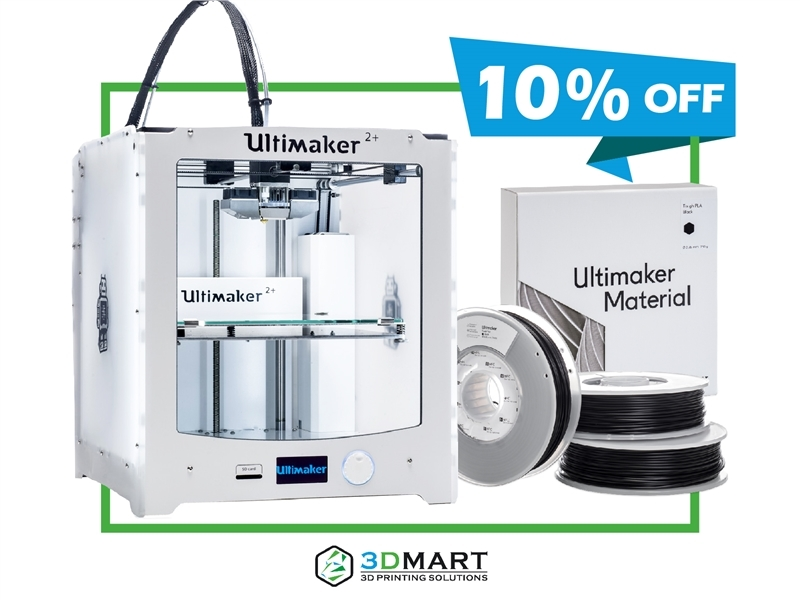 Bundle Ultimaker 2 Plus - 3D列印機