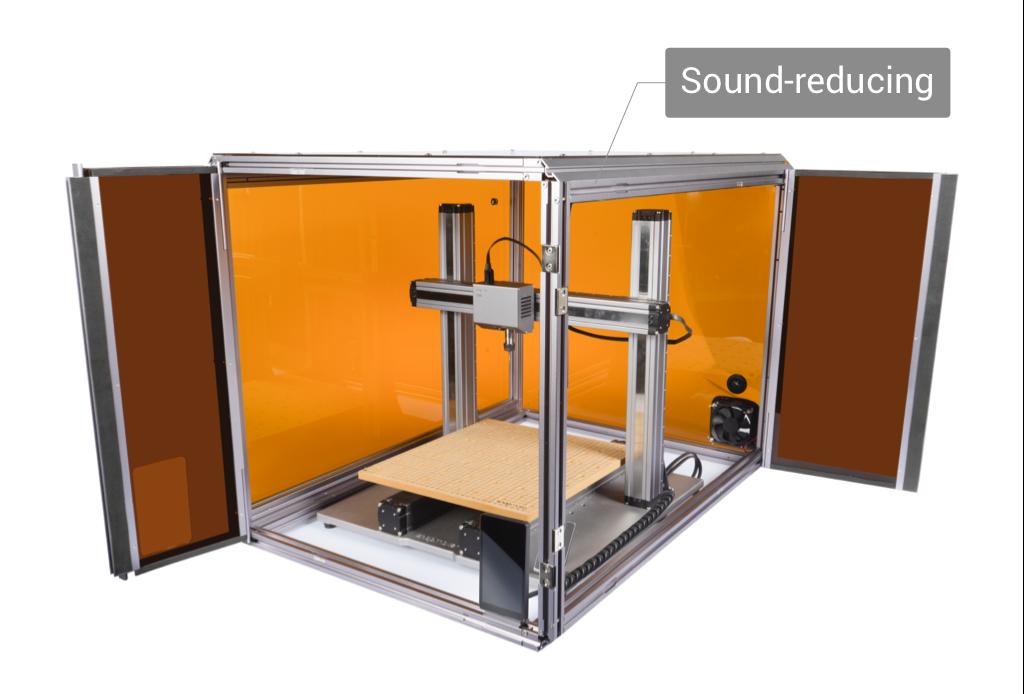 Snapmaker 2.0 A350 Enclosure Noise Reduction