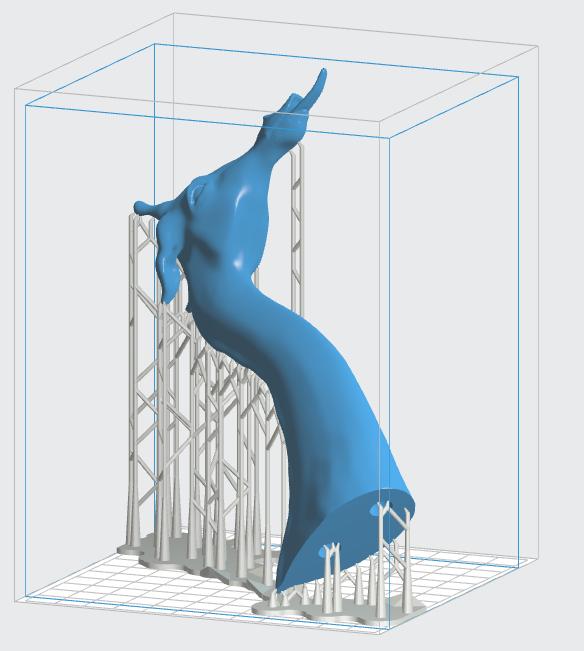 formlabs form2 preform切片軟體教學 讓樹脂流通