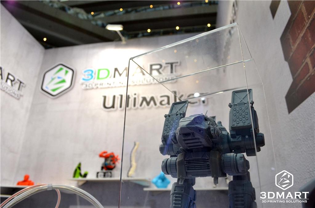 3DMART in 2017 Computex 展覽期間 DWS XFAB製作機器人