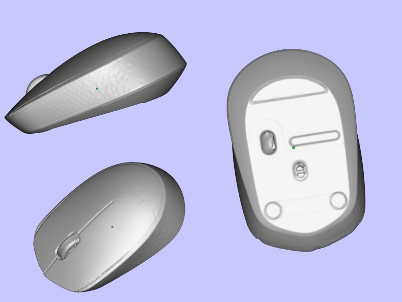 3DMART - 3D掃描器測試 EinScan 3D 掃描滑鼠 3D圖