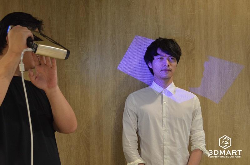 3DMART - 3D掃描器測試 EinScan 3D 掃描人像