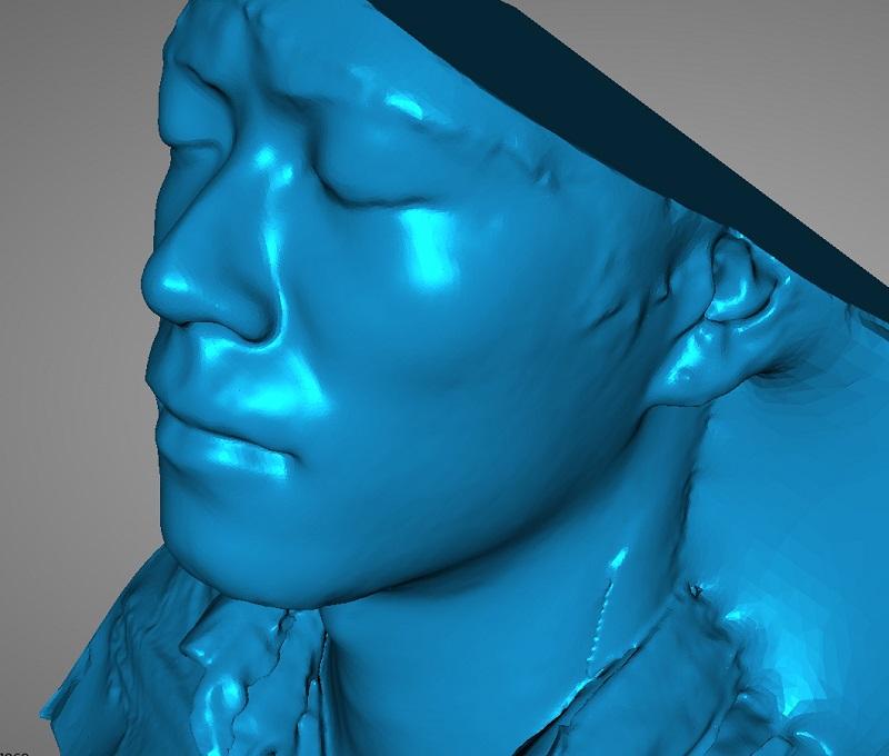 3DMART - 3D掃描器測試 EinScan 3D 掃描人像 3D圖