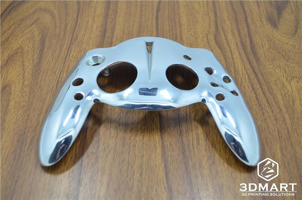 DWS XFAB SLA光固化3D列印機 列印Xbox把手 鍍銀