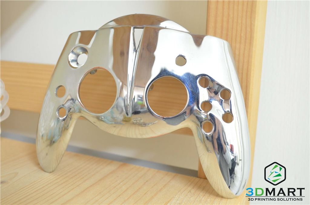 DWS XFAB SLA光固化3D列印機 列印Xbox把手 鍍銀2