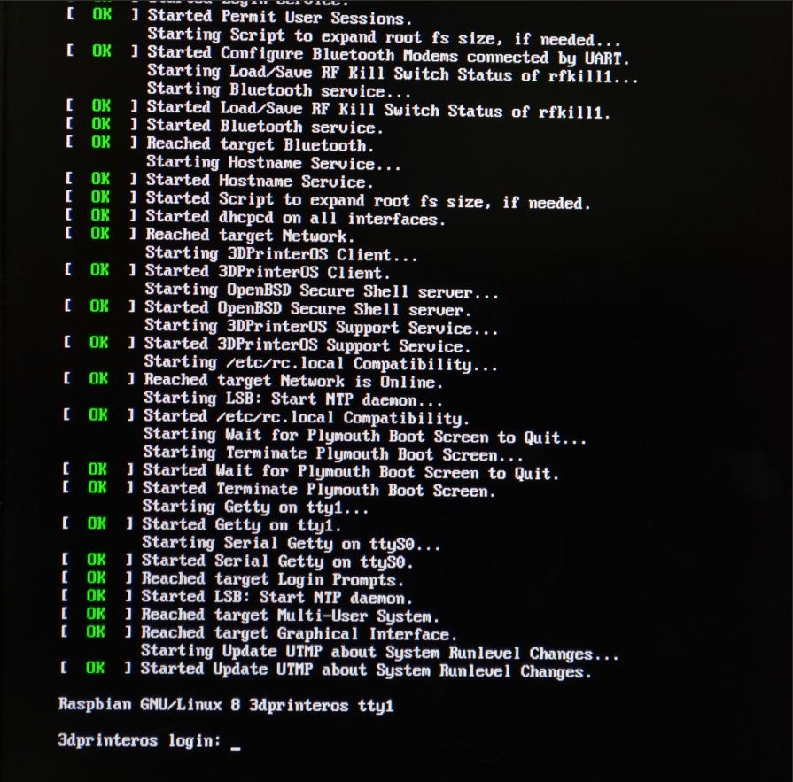 3D列印平台 3DprinterOS Win32 Disk imager 操作RaspberryPI3