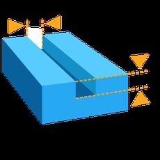 formlabs form2 preform切片軟體教學 最小沉雕凹度