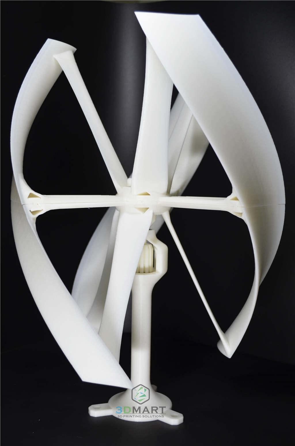 Ultimaker 2 + 3D列印機 easy to build beautiful sample Wind Turbine風力發電機