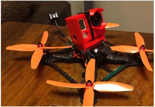 3DMART Ultimaker 2+ 3D列印機 Ninjatek Cheetah  Gopro空拍機 四軸飛行器 應用 防摔