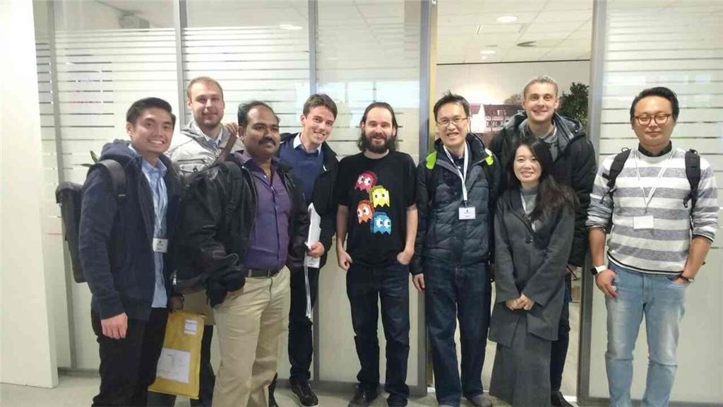 3DMART 前往荷蘭 接受Ultimaker 原廠訓練 與 Cura創造者David Braam 先生合照