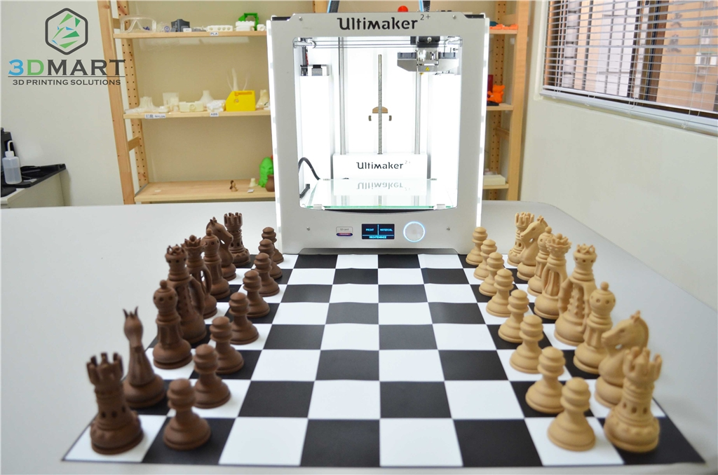 Ultimaker2+, 3D列印機, ColoprFabb, 仿木材料, woodfill 精緻仿木, corkfill 軟木色