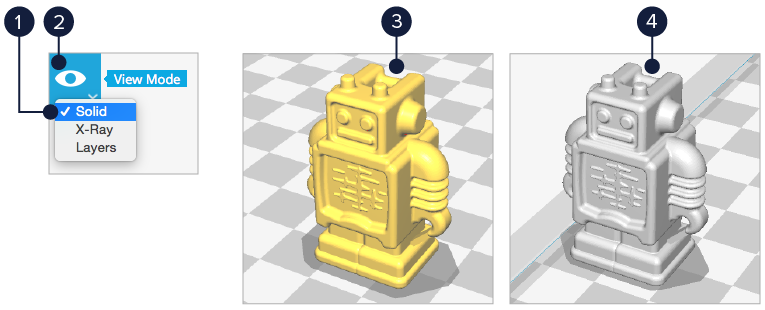 Ultimaker ultimaker 2+ solid mode