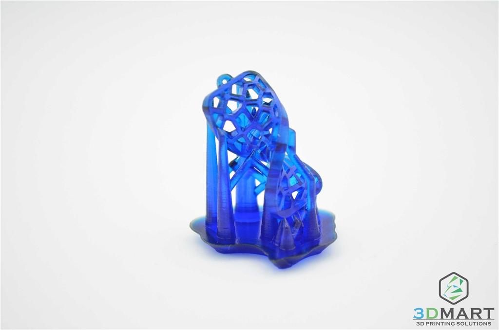 Formlabs Form2 SLA 光固化 3D列印機 Castable 鑄造樹脂 3DMART 螺旋吊墜
