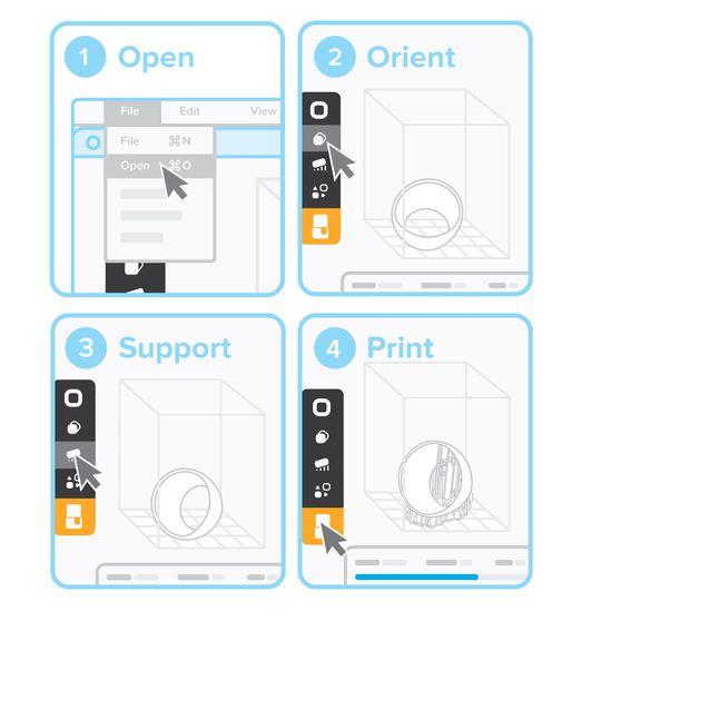 Formlabs - Form2 SLA 光固化3D列印機 3DMART PreForm準備列印