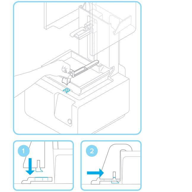 Formlabs - Form2 SLA 光固化3D列印機 3DMART 安裝樹脂刮器