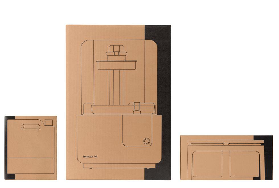 Formlabs - Form2 SLA 光固化3D列印機 3DMART Form2 包裝