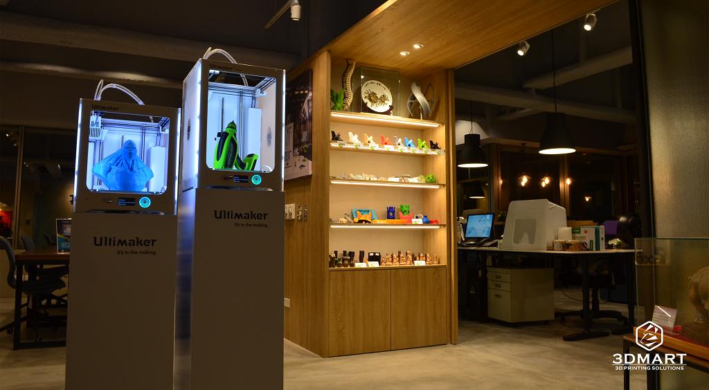 3DMART 新家新氣象 3D列印機 與樣品展示