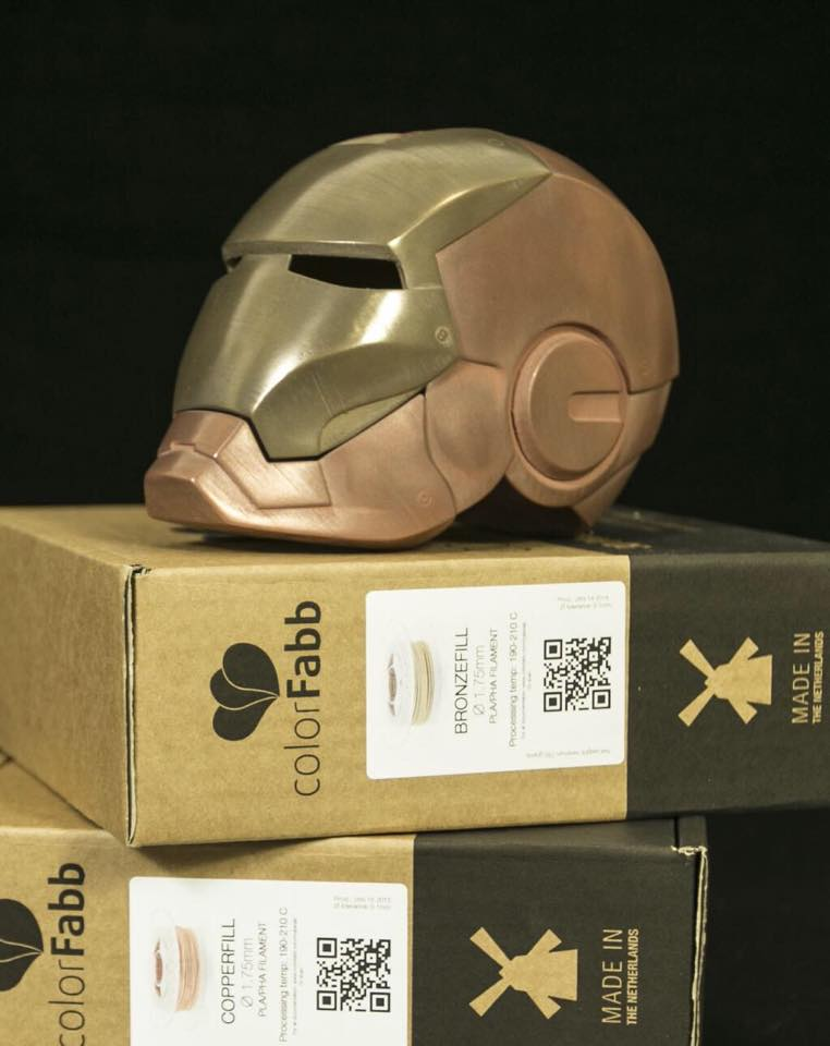 Colrfabb bronzefill copperfill 3DMART 鋼鐵人 打磨