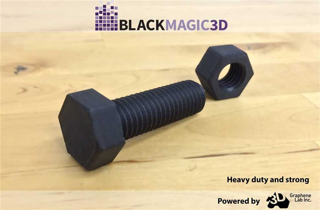 導電3D列印材料 BlackMagic - Conductive Graphene PLA - 應用