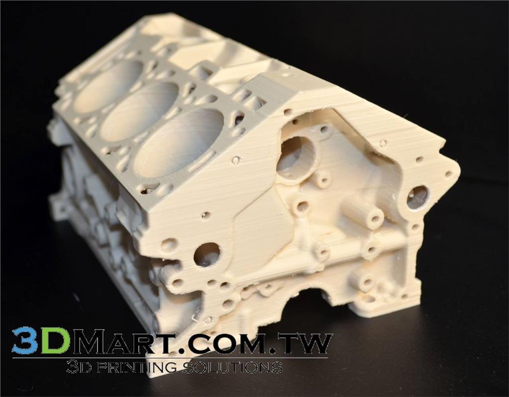 Airwolf HDR 石膏3D列印材料 BioFila - Linen - 引擎