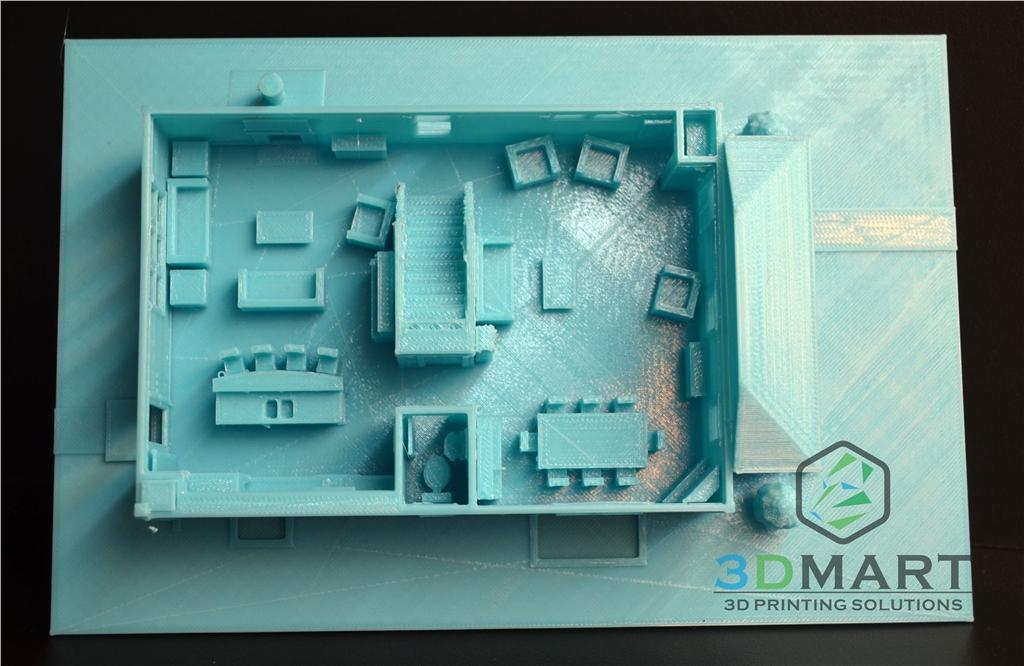 Ultimaker 3D印表機 ESUN PLA 3D列印 房子