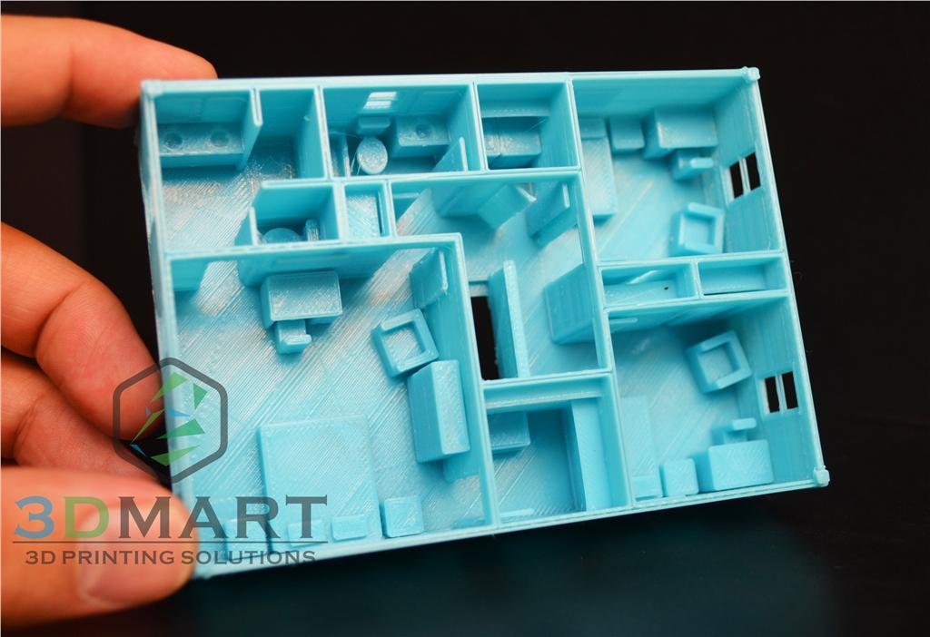 Ultimaker 3D印表機 ESUN PLA 3D列印 房子 室內設計