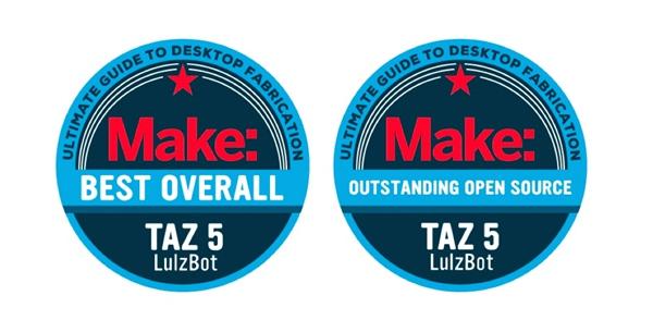 Make Magazine Best Overall Lulzbot Taz 5