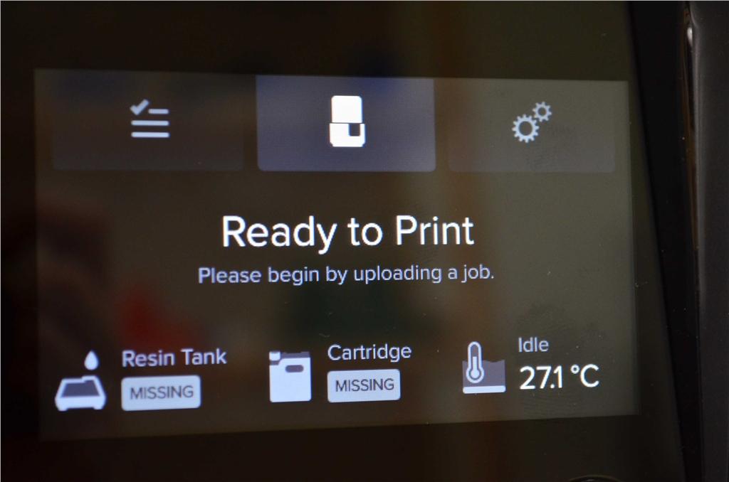 Formlabs SLA 3D列印機 Form 2 台灣 開箱文章 準備列印 3DMART