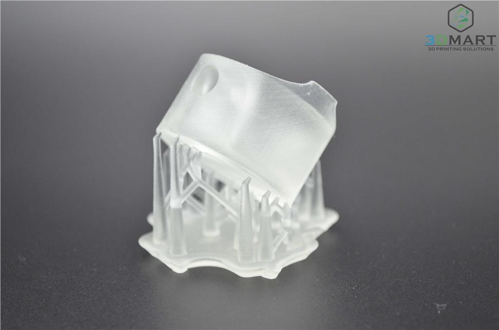 Formlabs SLA 3D列印機 Form 2 台灣 開箱文章 成品未拆支撐 3DMART