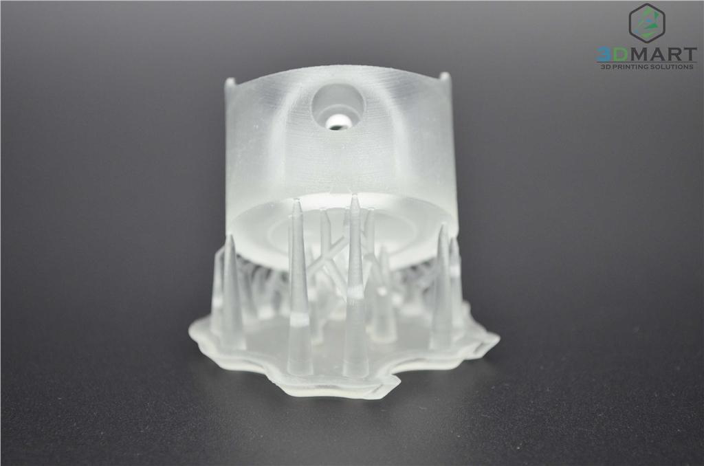 Formlabs SLA 3D列印機 Form 2 台灣 開箱文章 成品未拆支撐 正視角 3DMART