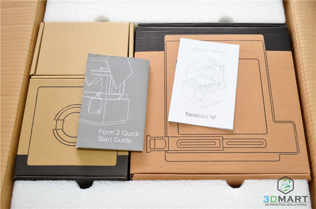 Formlabs SLA 3D列印機 Form 2 台灣 開箱文章 初步開箱 3DMART