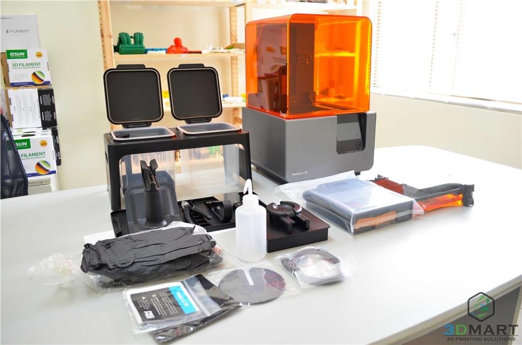 Formlabs SLA 3D列印機 Form 2 台灣 開箱文章 主機加配件全覽 3DMART