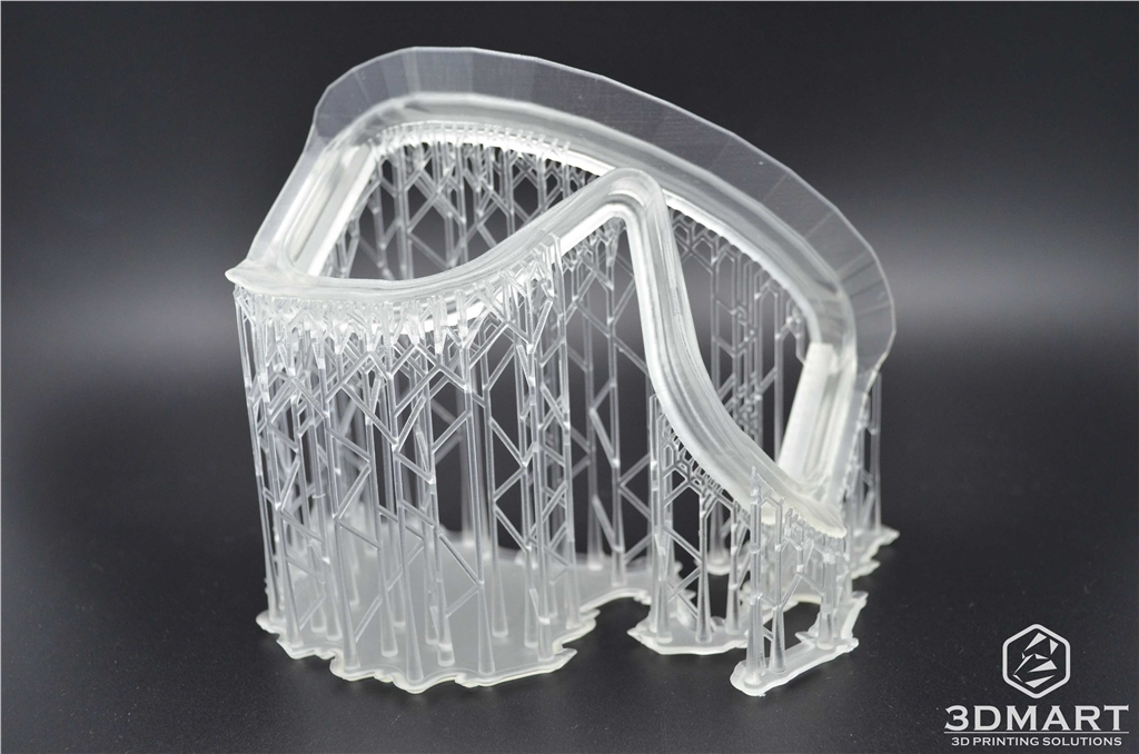 Formlabs Form2 SLA 光固化 3D列印機 滑雪鏡 支撐結構