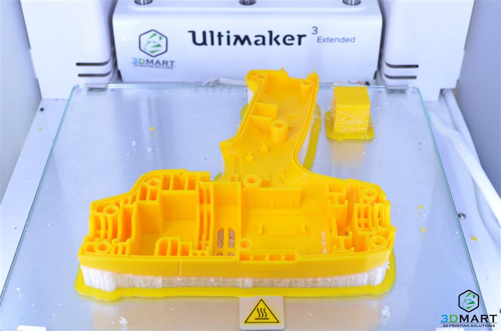 Ultimaker3列印開模前評估的電鑽