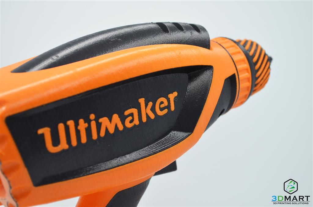 Ultimaker 列印雙色電鑽