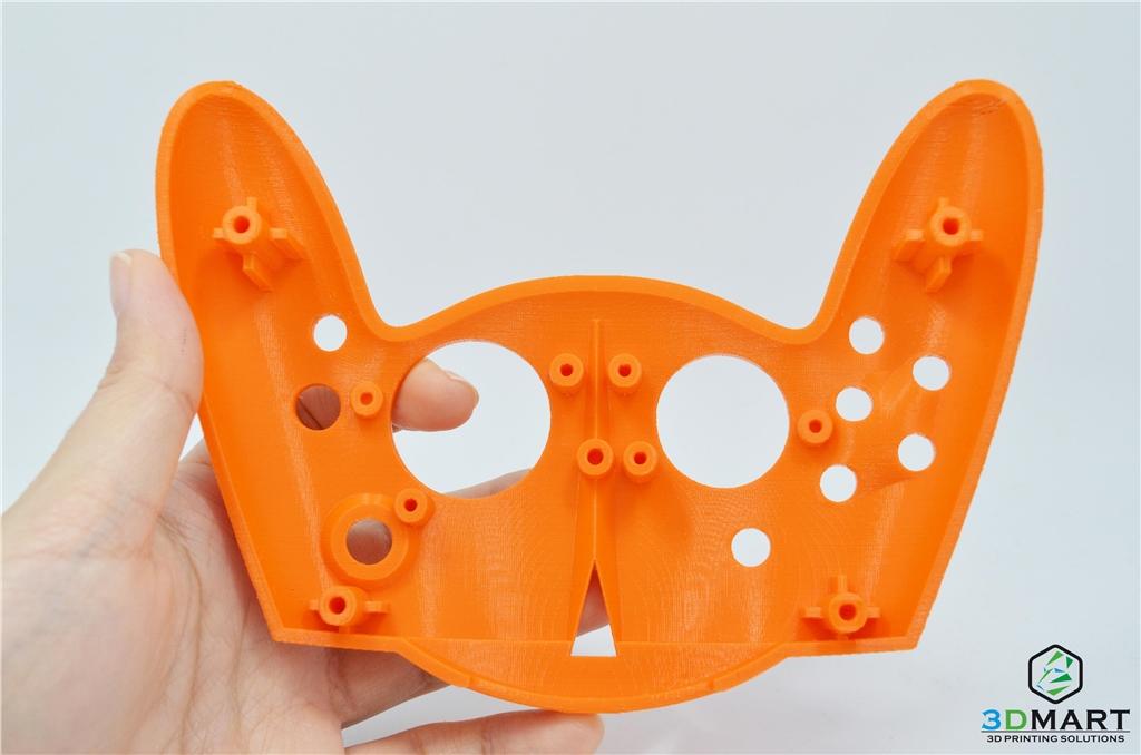 水溶性支撐PVA拆除後能夠打造出精細的物件