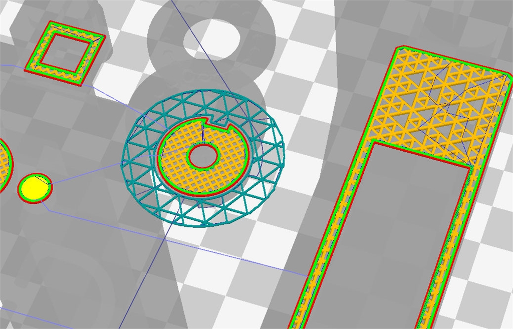 Ultimaker cura2.4 立方體填充